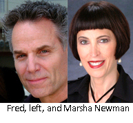 Fred, left, and Marsha Newman