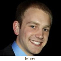 TJ Moen co-Founder and Software Business Accelerator project team leader