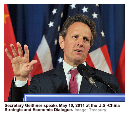 IImage of Tim Geithner speaking May 10