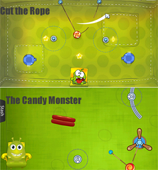 Cut the Rope, Candy Monster