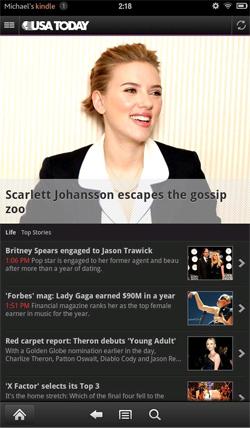 USA Today - Scarlett johansson