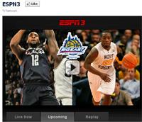 ESPN3 - Facebook