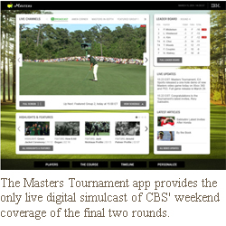 masters golf 2011