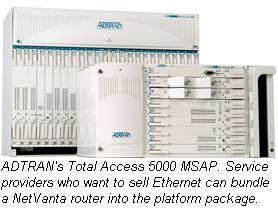 ADTRAN TA 5000 MSAP