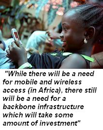 Africa wireless backbone