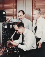 William Shockley, John Bardeen & Walter Brattain, co-invented the