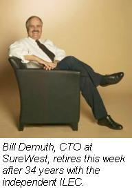 Bill Demuth, CTO, SureWest
