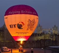 BT 2012 Olympics balloon