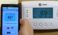 Verizon home monitoring control demo