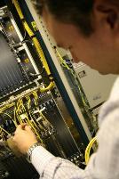 Fiber optics Cable and Wireless