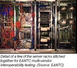 EANTC interoperability test rack