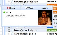 Google Apps chat application in Gmail