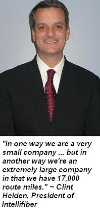 Clint Heiden, President of Intellifiber