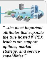 Winning hosted IP PBX business