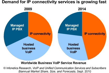 Infonetics business VoIP services