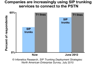 Infonetics SIP trunking 2012