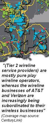 Tier 2 wireline consolidation