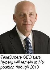 Lars Nyberg, TeliaSonera