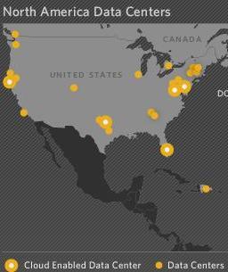 Terremark data center map