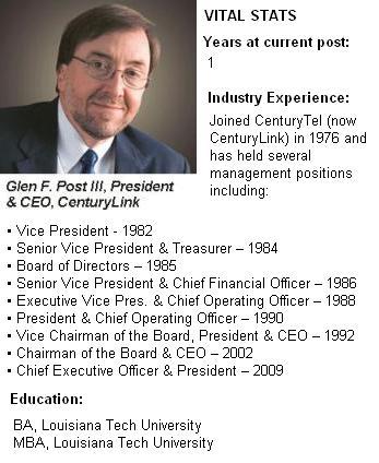 Glen F. Post, CenturyLink