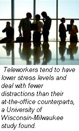 Teleworkers and stress