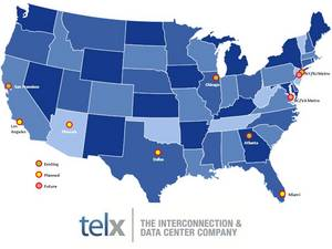 Telx Ethernet exchanges