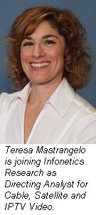 Teresa Mastrangelo, Infonetics
