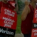 Verizon CWA strikers Pennsylvania