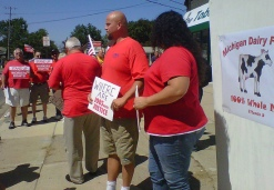 Verizon strike Walberg MI