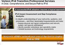 Verizon IPv6 services