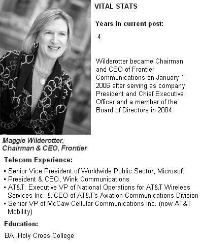 Maggie Wilderotter, Frontier Communications