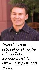 David Howson, Zayo Bandwidth