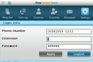 ringcentral mobile