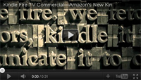 amazon kindle fire tv commercial