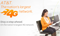 AT&T nation's largest 4g network