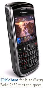 BlackBerry Bold 9650 Smartphone
