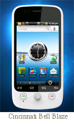 Cincinnati Bell takes Android local with Blaze, Nexus One