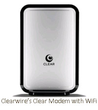 Clearwire's Clear Modem with WiFi