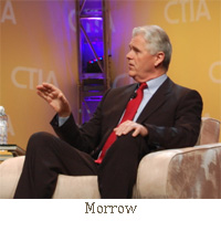 Clearwire (NASDAQ:CLWR) CEO Bill Morrow will resign and be replaced on an interim basis by Chairman John Stanton.