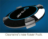Clearwire's new Rover Puck.