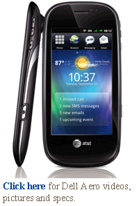 dell aero at&t mobility $100