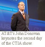 AT&T CTO John donovan at ctia
