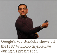 Google's Vic Gundotra, vice president of engineering,