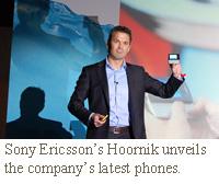 Lennard Hoornik Sony Ericsosn