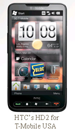 HTC's HD2 for T-Mobile USA