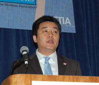 James Jiang, executive vice president of product marketing for Huawei