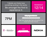 nokia t-mobile invitation