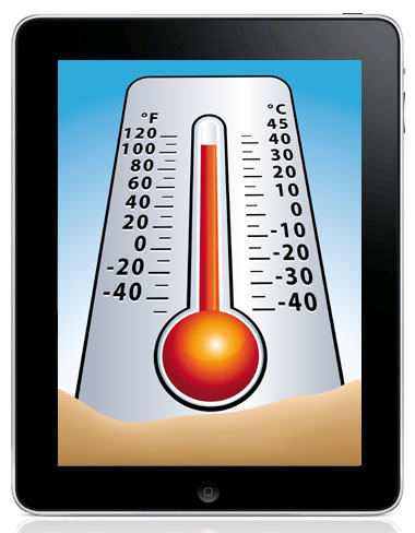 Temperature mobile