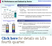 Click here for details on LG's fourth quarter.