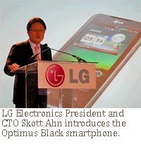 LG Skott Ahn Optimus Black